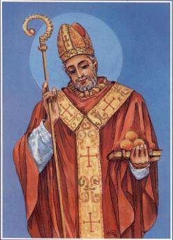 Patron parafii w Gomulinie